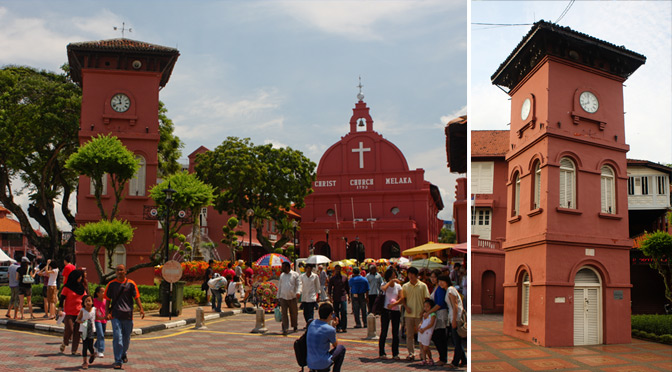 Stadthuys Melaka - The famous Dutch square in Malacca