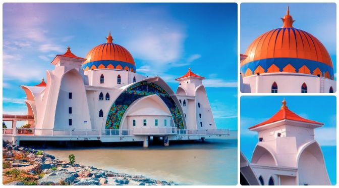 Malacca Straits Mosque - Masjid Selat Melaka