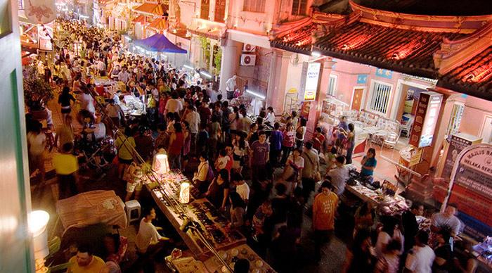 Melaka Heritate Food Street